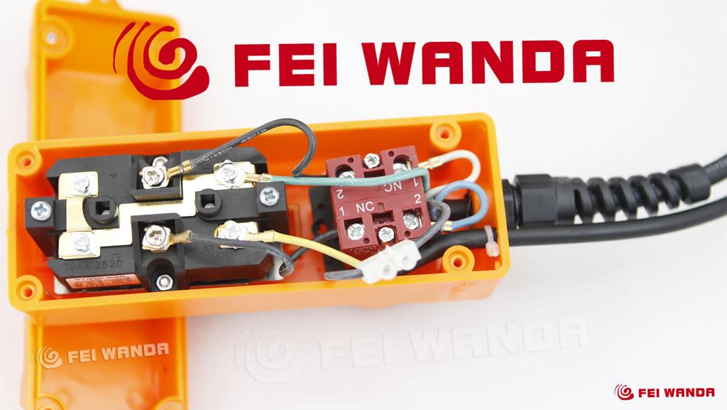 f5m升降开关接线图|f480g小吊机开关接线图|220v电机